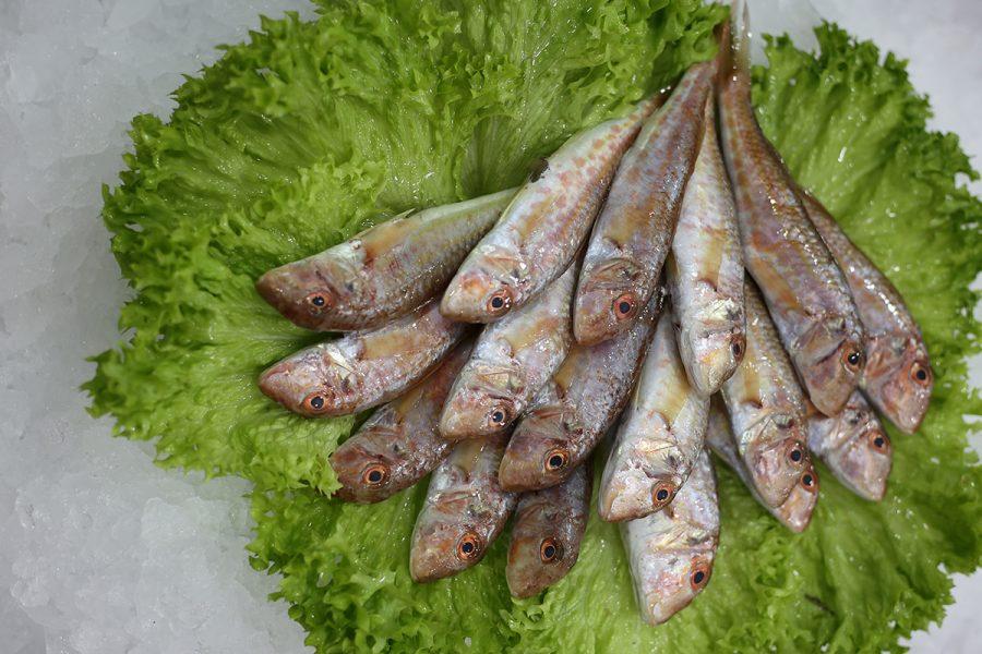 Friture de rouget-barbet | Livraison de poissons • Poissonnerie • Restaurant • Traiteur à Anderlecht