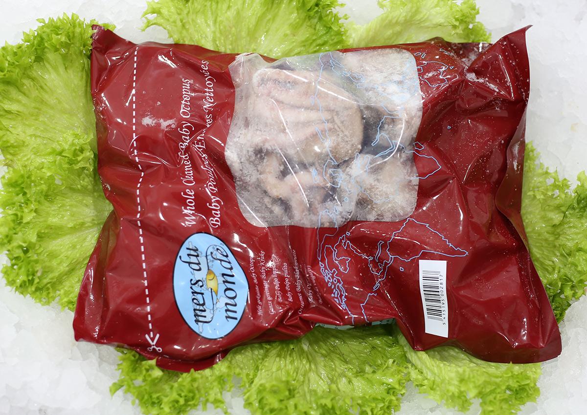 Bébé poulpe | Livraison de poissons • Poissonnerie • Restaurant • Traiteur à Anderlecht