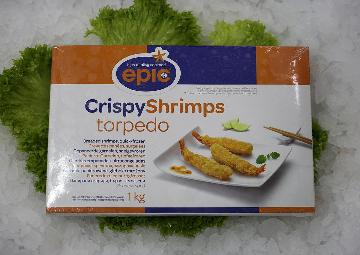 Crevette pannée | Livraison de poissons • Poissonnerie • Restaurant • Traiteur à Anderlecht